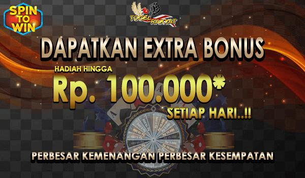 Free spin harian